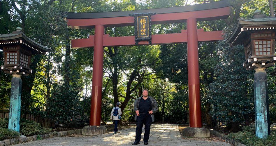 Nezu Shrine North Tori