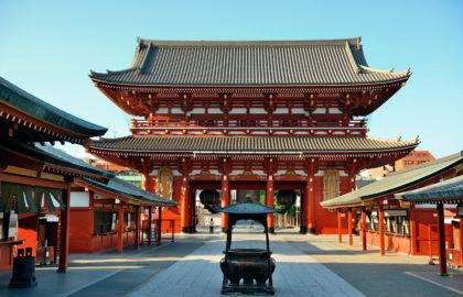 Tokyo temple