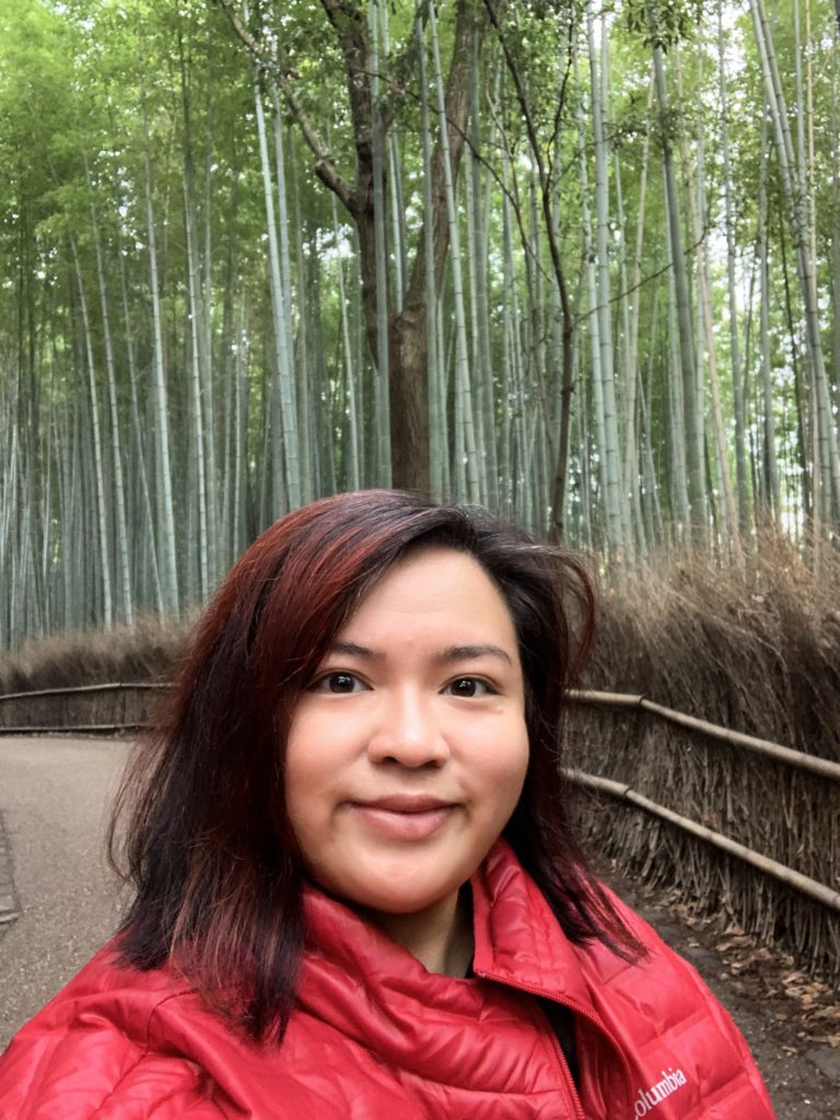 Just a few week ago at Arashiyama Bamboo Forest, Kyoto, Japan