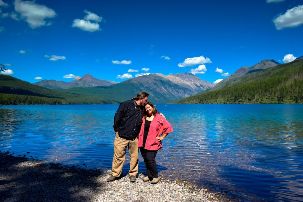 Sig & I at Glacier National Park, Montana, USA