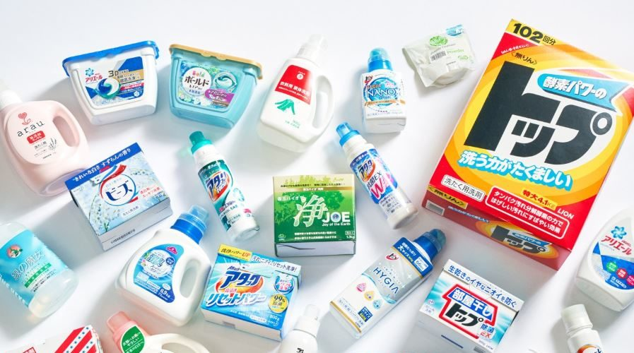 Quick Guide to Japanese Laundry Products