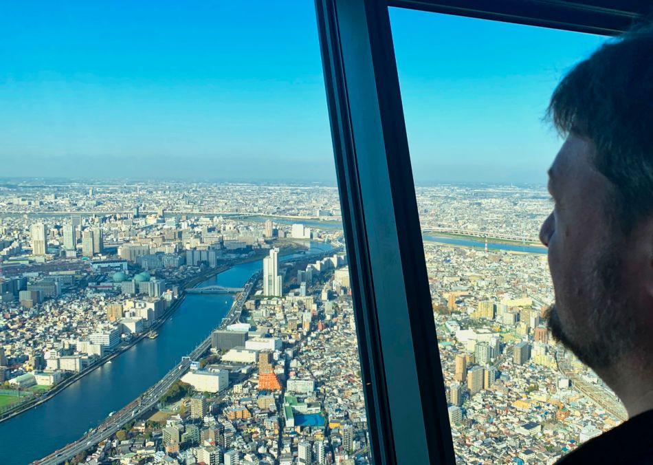 Tokyo Sky Tree Tembo Deck View