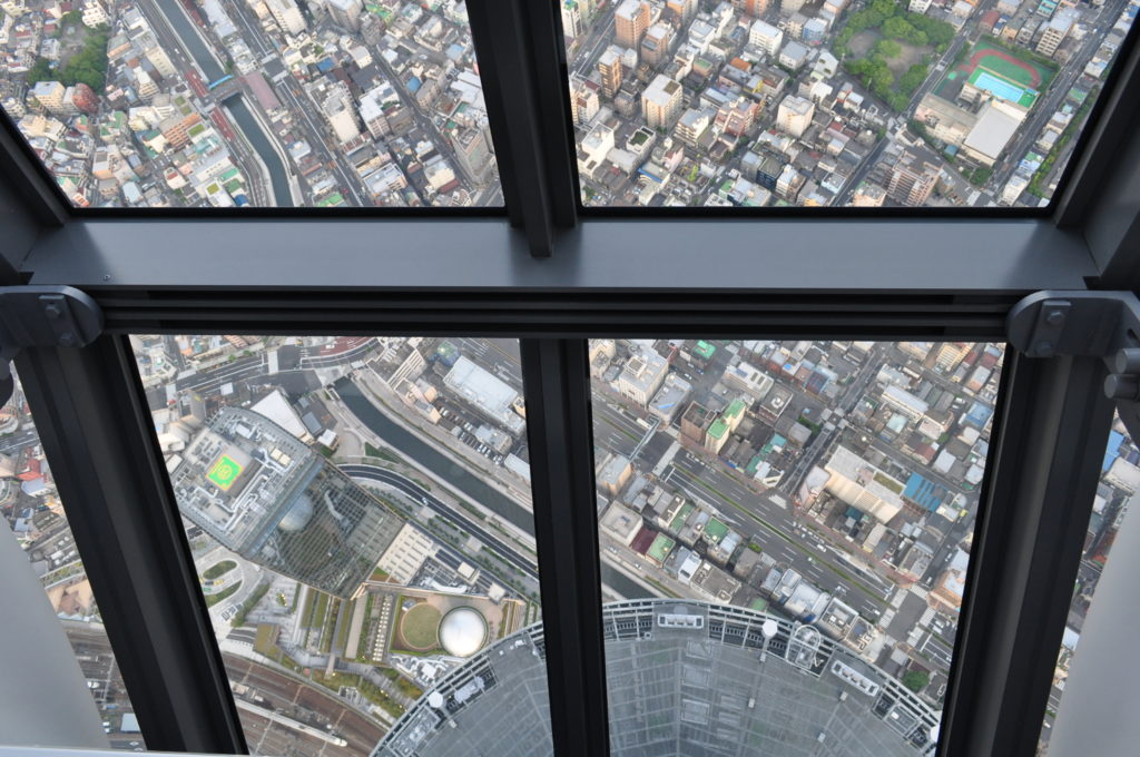 Tokyo Sky Tree View Down