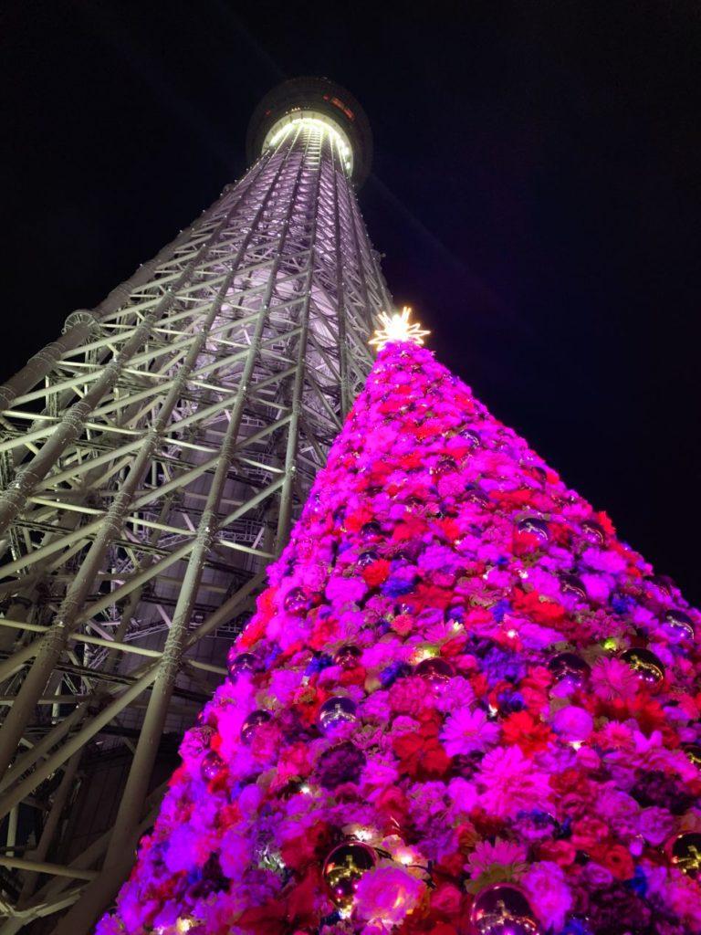 Tokyo Skytree Illuminations
