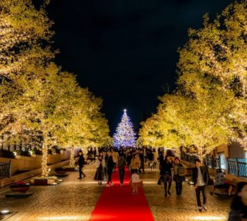 Yebisu Garden Place Winter Illumination