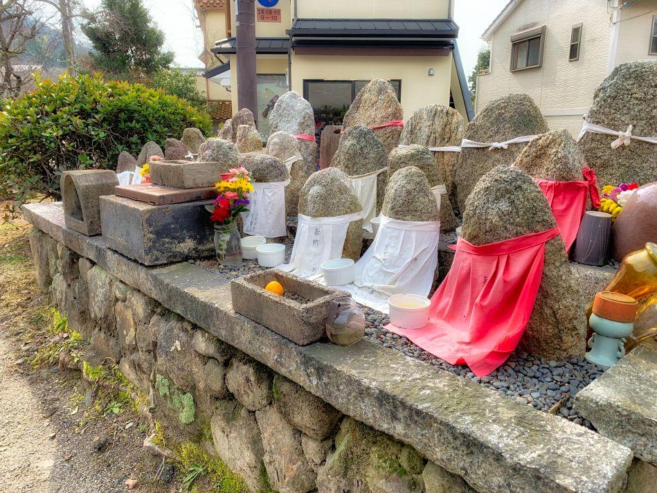 Ojizo-sama on Along the Philosopher's Walk